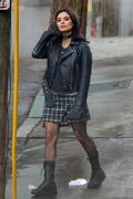 Diane Guerrero - Filming 'Doom Patrol' in Atlanta 1/10/19