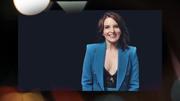 Tina Fey - SNL season finale - cleavage