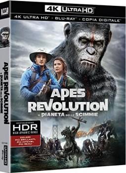Apes Revolution - Il pianeta delle scimmie (2014) Full Blu-Ray 4K 2160p UHD HDR 10Bits HEVC ITA DTS 5.1 ENG DTS-HD MA 7.1 MULTI
