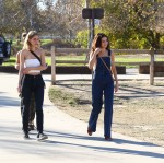 Selena Gomez at Lake Balboa park in Encino 02/02/2018211670737642643