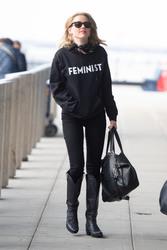 Amber Heard - At JFK Airport 12/9/18