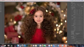 Новогодние съёмки и обработка (2017) Видеоурок