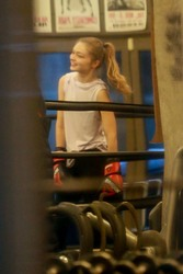 Gigi Hadid - At Gotham Gym in NYC 1/18/19