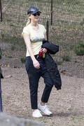 Jennifer Lawrence - At the park in NYC 4/13/18