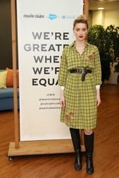 Amber Heard -          Marie Claire International Women's Day Event London March 7th 2019.