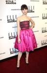 Felicity Jones at the 2014 Elle Style Awards 2/18/14