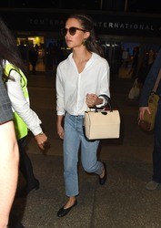 Alicia Vikander - At LAX Airport 3/11/18