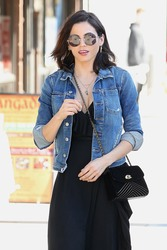 Jenna Dewan - Out for lunch in Studio City 1/23/19