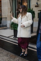 Dakota Johnson - Out in Paris 2/5/18