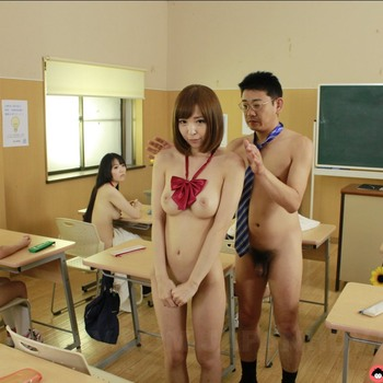 Hikaru Shiina - Nude school day punishment for cute Hikaru Shiina (2018) HD 1080p