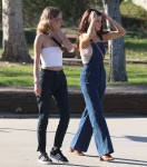 Selena Gomez at Lake Balboa park in Encino 02/02/2018084203737638133