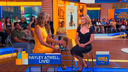 Hayley Atwell on Good Morning America in New York City - 7/24/18