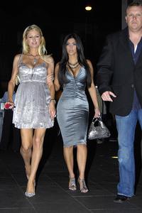 Paris Hilton & Kim Kardashian - At Darlinghurst in Sydney, Australia| January 1, 2007