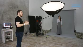 21 схема света, если у тебя один источник в студии (2018) Мастер-класс