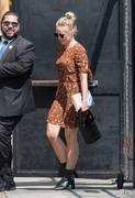 Kristen Bell - Arriving at Jimmy Kimmel Live in Hollywood 8/8/18
