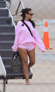 Rihanna - At the airport in Barbados 8/18/18
