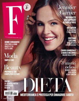 Jennifer Garner -             F Magazine (Italy) March 20th 2019.