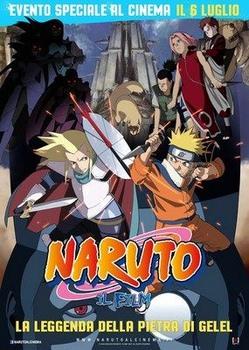 Naruto Il film - La leggenda della pietra Gelel (2015) DVD9
