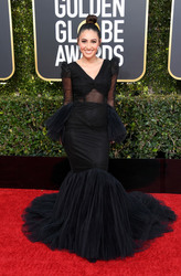 Francia Raisa - 2019 Golden Globe Awards in LA 1/6/19