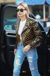 Hailey Baldwin - Out in West Hollywood 1/18/19