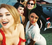 Renee Olstead & Friends - Ellen von Unwerth Photo Shoot 5/23/2018