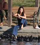 Selena Gomez at Lake Balboa park in Encino 02/02/2018107d5e737640093
