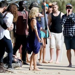 Elsa Pataky - Filming 'Tidelands' on Stradebroke Island 7/3/18