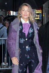 Blake Lively - Arriving at Good Morning America in NYC 9/10/18