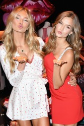 Josephine Skriver & Romee Strijd - Victoria's Secret New Dream Angels And Very Sexy Collections Launch in Santa Monica 2/6/18