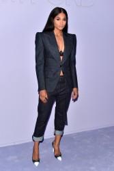 Ciara - Tom Ford Menswear Fashion Show in NYC 2/6/18