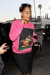Tracee Ellis Ross - Hits Up The Warwick Lounge in Hollywood (6/29/18)