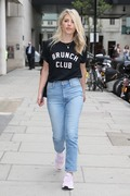 Mollie King -                                        BBC Studios London July 9th 2018.