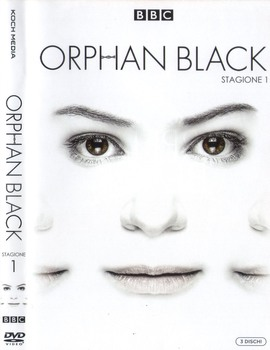 Orphan Black - Stagione 1 (2013 - 2017) 3xDVD9 COPIA 1:1 ITA ENG