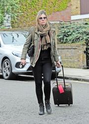 Elizabeth Hurley - Out in London 5/2/18