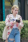 Emma Roberts - Out in LA 6/16/18