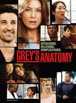 Grey's Anatomy -  stagione 01 (2005 –     ) 2xDVD9 COPIA 1:1 ITA ENG FRA