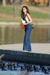 Selena Gomez at Lake Balboa park in Encino 02/02/2018b2a4df737639413