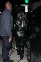 Kourtney Kardashian - Out for dinner in West Hollywood 1/11/19