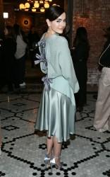 Camilla Belle - Adeam Fashion Show in NYC 2/8/18