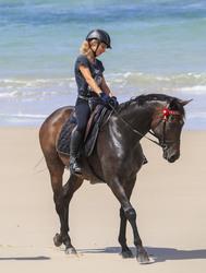 Elsa Pataky - Horseback ridingin Byron Bay 3/19/19