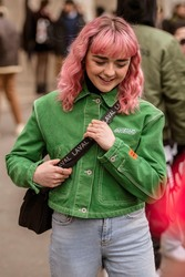 Maisie Williams - Out in Paris 1/15/19