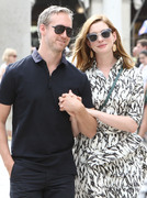 Anne Hathaway - Out in Venice, Italy 8/31/18