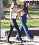 Selena Gomez at Lake Balboa park in Encino 02/02/2018a16958737637833