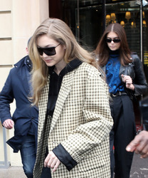 Gigi Hadid - Out in Paris 3/2/18