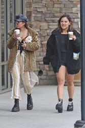 Vanessa & Stella Hudgens Leaving Starbucks in Los Angeles 04/19/2018bdda36829365513