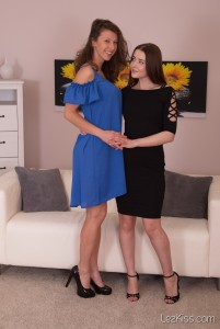 Kailena Sybil & Emylia - Lez Kiss
