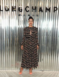 Priyanka Chopra - Longchamp Fashion Show in NYC 9/8/18