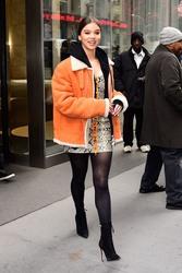 Hailee Steinfeld - Leaving Sirius XM Studios in NYC 12/20/18