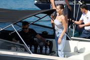 Bella Hadid boarding a yacht in Monaco 05/25/20185ed85d876374844