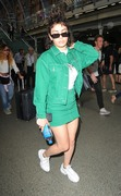 Charli XCX -  Kings Cross St Pancras railway station in London 6/21/18